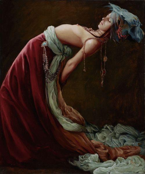 10. Countess, 24'x20', oil on canvas, $4000